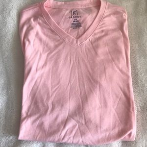 Men's new cotton v neck shirt